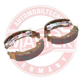 Brake Shoe Set 03013703602-SET-MS PUNTO (188) 1.2 16V 80 MY 2000