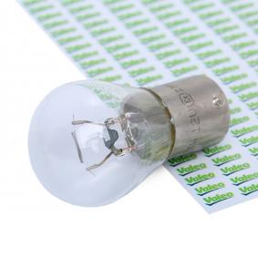 Bulb, indicator P21W, BA15s, 12V, 21W, ESSENTIAL 032201