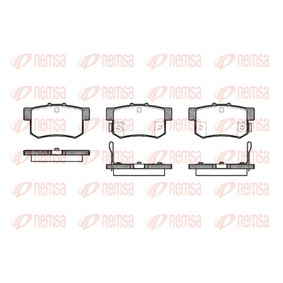 2004 Honda Accord CL7 2.2 i-CTDi (CN1) Brake Pad Set, disc brake 0325 22