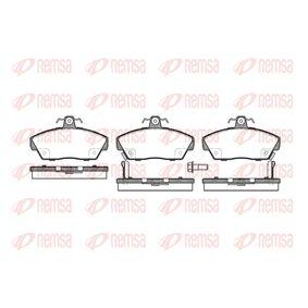 Bremsbelagsatz, Scheibenbremse Höhe: 65,5mm, Dicke/Stärke: 18,2mm mit OEM-Nummer GBP 90314