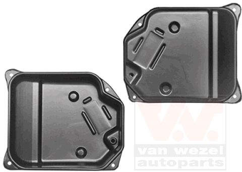 Oil Pan, automatic transmission VAN WEZEL 0331070 rating