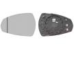 OEM Mirror Glass, outside mirror VAN WEZEL 8607827 for AUDI