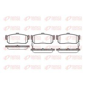 Bremsbelagsatz, Scheibenbremse Höhe: 46,8mm, Dicke/Stärke: 16mm mit OEM-Nummer 440604U090