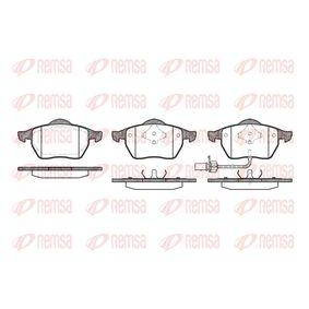 Bremsbelagsatz, Scheibenbremse Höhe: 74,2mm, Dicke/Stärke 1: 19,5mm, Dicke/Stärke 2: 20,3mm mit OEM-Nummer 1143349