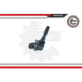 Ignition Coil Number of Poles: 4-pin connector with OEM Number 04C905110 D