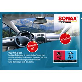 SONAX Hand cleaning wipes 04181000