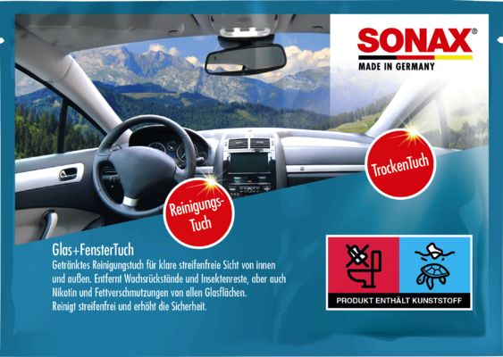 SONAX  04181000 Кърпи за почистване на автомобил