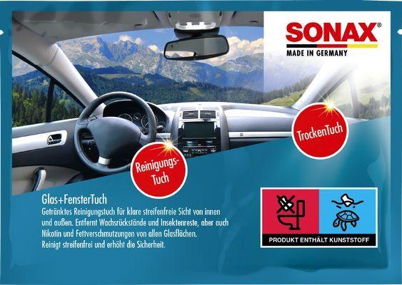 SONAX  04181000 Chiffons de nettoyage automobile