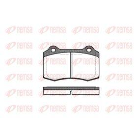 Bremsbelagsatz, Scheibenbremse Höhe: 69,3mm, Dicke/Stärke: 14,8mm mit OEM-Nummer C2C 24016