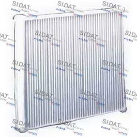 Filter, Innenraumluft Länge: 250mm, Breite: 230mm, Höhe: 30mm mit OEM-Nummer 01718042