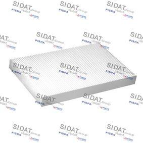 Filter, Innenraumluft Länge: 304mm, Breite: 192mm, Höhe: 30mm mit OEM-Nummer 4A0 819 439