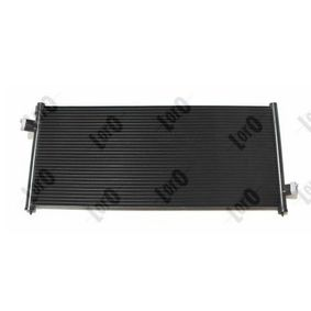 Kondensator, Klimaanlage Netzmaße: 740x307x16 mit OEM-Nummer 73210AC050
