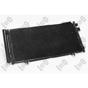 Kondensator, Klimaanlage Netzmaße: 660x297x16 mit OEM-Nummer 73210SC012