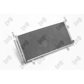Kondensator, Klimaanlage Netzmaße: 660*311*16 mit OEM-Nummer 73210-SG000