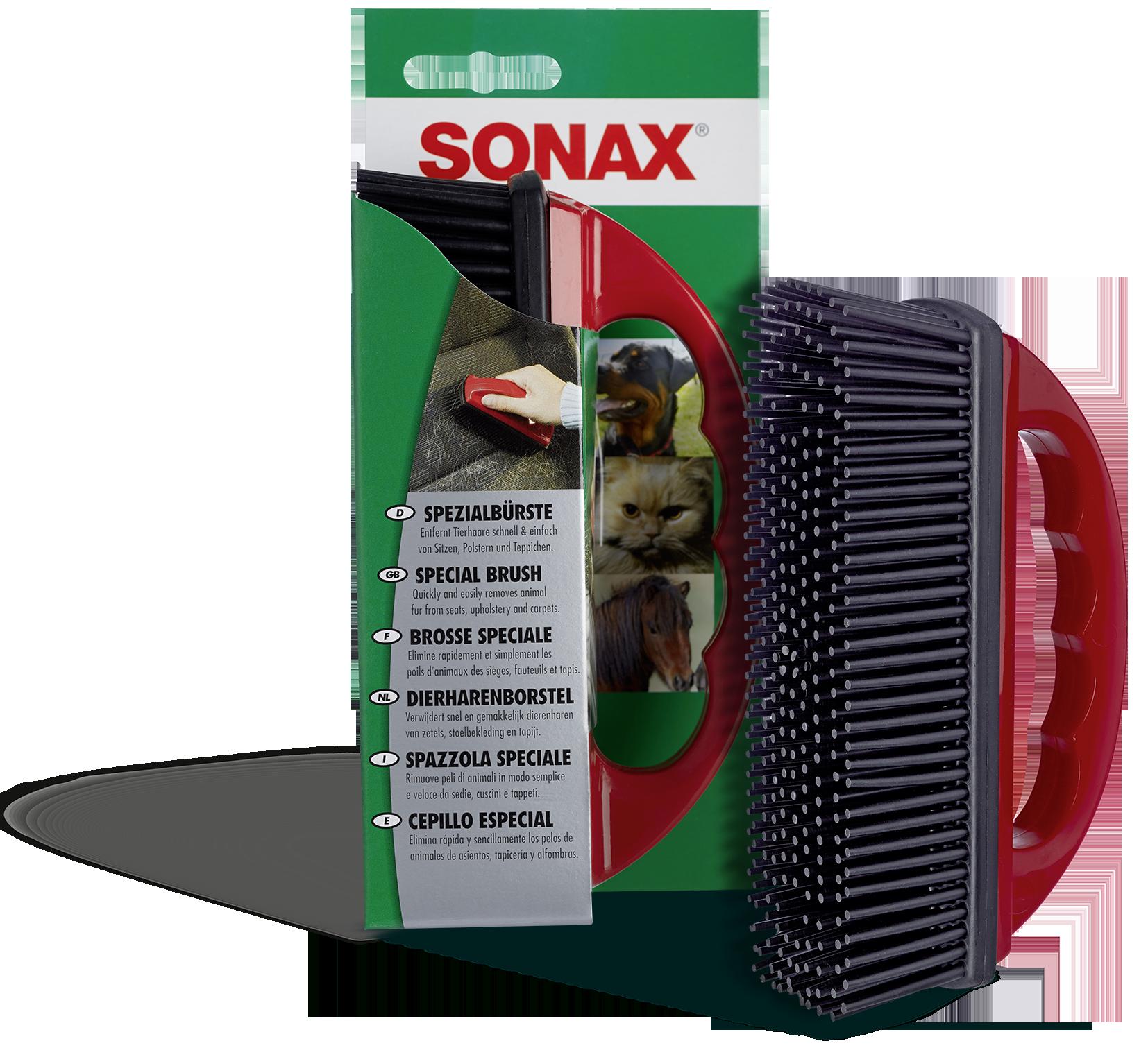 Четка за чистене салона на автомобила 04914000 SONAX 491400 в оригиналното качество