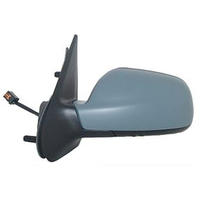 ABAKUS Side view mirror Left, Electric, Aspherical, Blue-tinted, Electronically foldable, Heated, Primed