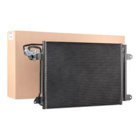 Kondensator, Klimaanlage Netzmaße: 580x400x16 mit OEM-Nummer 1K0.820.411 N