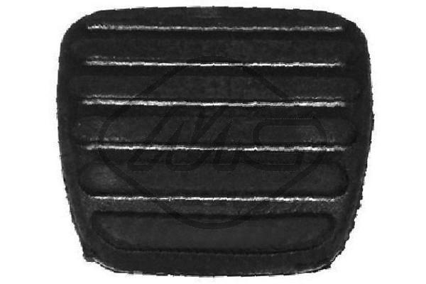 Metalcaucho  05757 Brake Pedal Pad