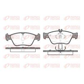 Bremsbelagsatz, Scheibenbremse Höhe 1: 66,3mm, Höhe 2: 60mm, Dicke/Stärke: 19,5mm mit OEM-Nummer A 0024204420