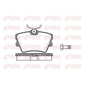 Bremsbelagsatz, Scheibenbremse Höhe: 57,4mm, Dicke/Stärke: 17mm mit OEM-Nummer 701 698 451C
