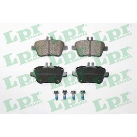 Bremsbelagsatz, Scheibenbremse Breite: 106,4mm, Höhe: 58,9mm, Dicke/Stärke: 18,4mm mit OEM-Nummer A00 742 09 420