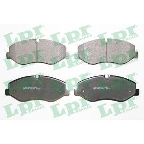 Bremsbelagsatz, Scheibenbremse Breite: 184,2mm, Höhe: 74,9mm, Dicke/Stärke: 21mm mit OEM-Nummer A4474210800