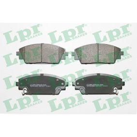 Brake Pad Set, disc brake Article № 05P1917 £ 140,00