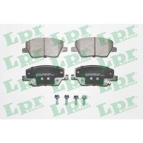 Bremsbelagsatz, Scheibenbremse Breite: 132,9mm, Höhe: 58,4mm, Dicke/Stärke: 19,2mm mit OEM-Nummer 77367628