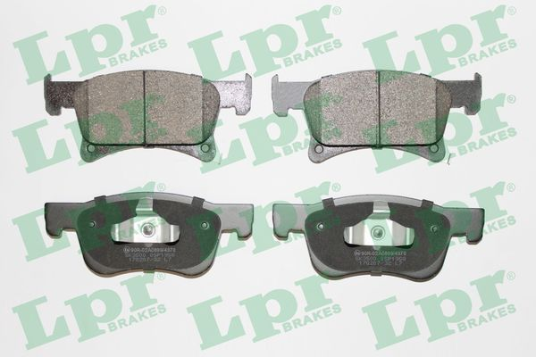LPR  05P1958 Bremsbelagsatz, Scheibenbremse Breite: 155mm, Höhe 1: 68mm, Höhe 2: 61,8mm, Dicke/Stärke: 17,8mm