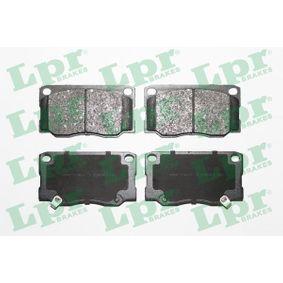 Bremsbelagsatz, Scheibenbremse Breite: 139,5mm, Höhe: 76mm, Dicke/Stärke: 18,5mm mit OEM-Nummer 58101-5HA30