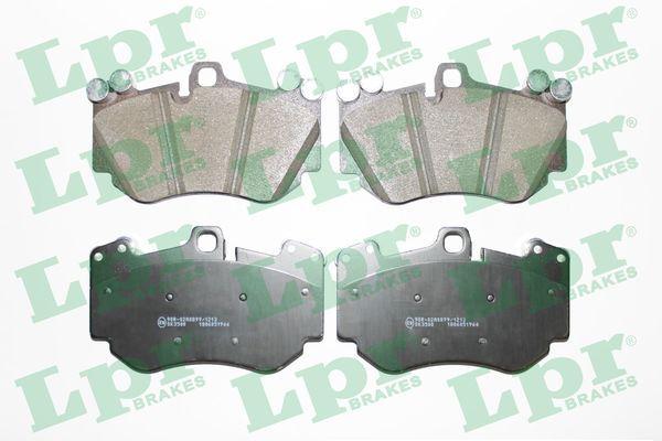 LPR  05P1966 Bremsbelagsatz, Scheibenbremse Breite: 176mm, Höhe: 109,6mm, Dicke/Stärke: 16,8mm