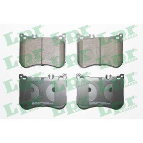 LPR  05P1968 Bremsbelagsatz, Scheibenbremse Breite: 132mm, Höhe: 97,5mm, Dicke/Stärke: 17,8mm