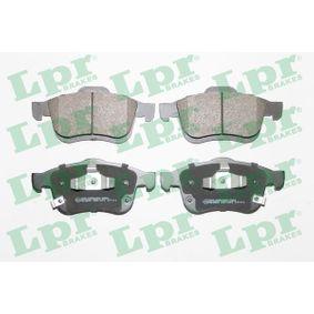 LPR  05P1974 Bremsbelagsatz, Scheibenbremse Breite: 155,2mm, Höhe: 69,1mm, Dicke/Stärke: 20mm