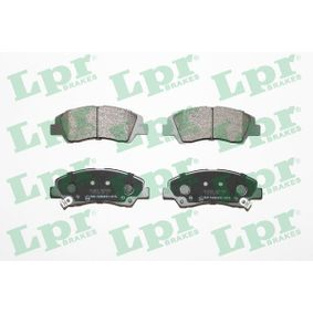 Bremsbelagsatz, Scheibenbremse Breite: 132,5mm, Höhe: 50,4mm, Dicke/Stärke: 16,7mm mit OEM-Nummer 58101B4A00