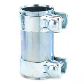 VAICO Rohrverbinder, Abgasanlage V10-1838 für AUDI 90 (89, 89Q, 8A, B3) 2.2 E quattro ab Baujahr 04.1987, 136 PS