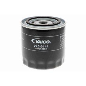 Sensor de Presión de Aceite JEEP CHEROKEE (XJ) 2.5 de Año 10.1990 121 CV: Filtro de aceite (V25-0144) para de VAICO