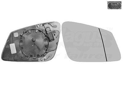 VAN WEZEL  0617868U Mirror Glass, outside mirror