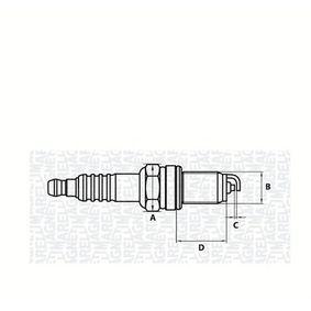 Spark Plug 062000769304 PUNTO (188) 1.2 16V 80 MY 2006