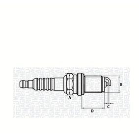 Spark Plug Electrode Gap: 0,7mm with OEM Number 5962H8