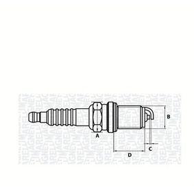 Candela accensione Dist. interelettrod.: 1mm, Dimensioni filettatura: M14 con OEM Numero 1120831