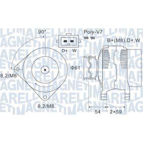 Lichtmaschine mit OEM-Nummer A 0101542102
