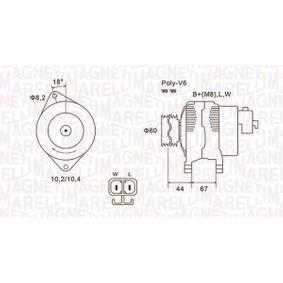 Lichtmaschine mit OEM-Nummer 8-9718-9112-3