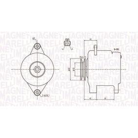 Alternatore con OEM Numero A3T B0771