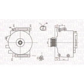 Generator mit OEM-Nummer 0121549802
