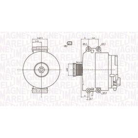 Lichtmaschine mit OEM-Nummer 12317521385