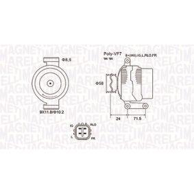 Lichtmaschine mit OEM-Nummer 27060-0R071