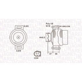 Generator mit OEM-Nummer A64 615 41102