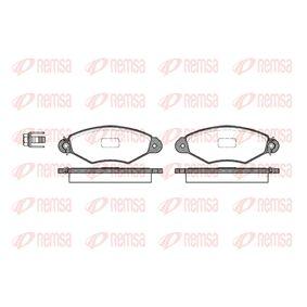 Bremsbelagsatz, Scheibenbremse Höhe: 47,4mm, Dicke/Stärke: 18mm mit OEM-Nummer 17.2082