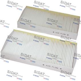 Filter, interior air Length: 225mm, Width: 111mm, Height: 29mm with OEM Number 80292-S6M-901