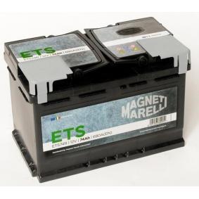MAGNETI MARELLI ETS 069074680006 Starterbatterie Polanordnung: DX